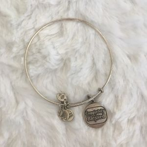 alex and ani / completely blessed silver bracelet